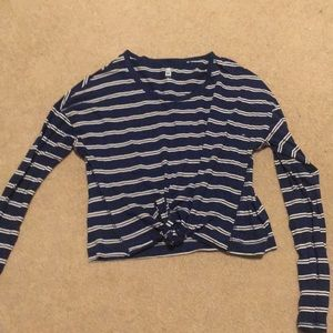 striped pacsun long sleeve